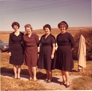 Loretta, Anna Marie, Catherine and Patricia - my dad's sisters