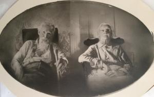 Patrick and Mary McTygue about 1920, Eddyville, Dawson County Nebraska.